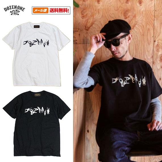 一打 (代顿韩元) HANDSIGN s/S T 恤 (2016 SA 模型) (雷迪埃径向 T 衬衫男式短袖手签名)