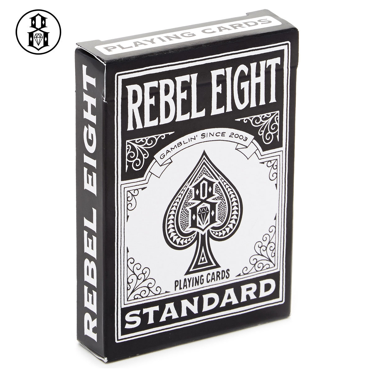 剩下衹有! REBEL8(八水準)PLAYING CARDS[rebel 8水準8撲克牌打扮baisukuru Bicycle burandomajishansutoritoburandosuketobodogurafititatu Mike Giant藝術]