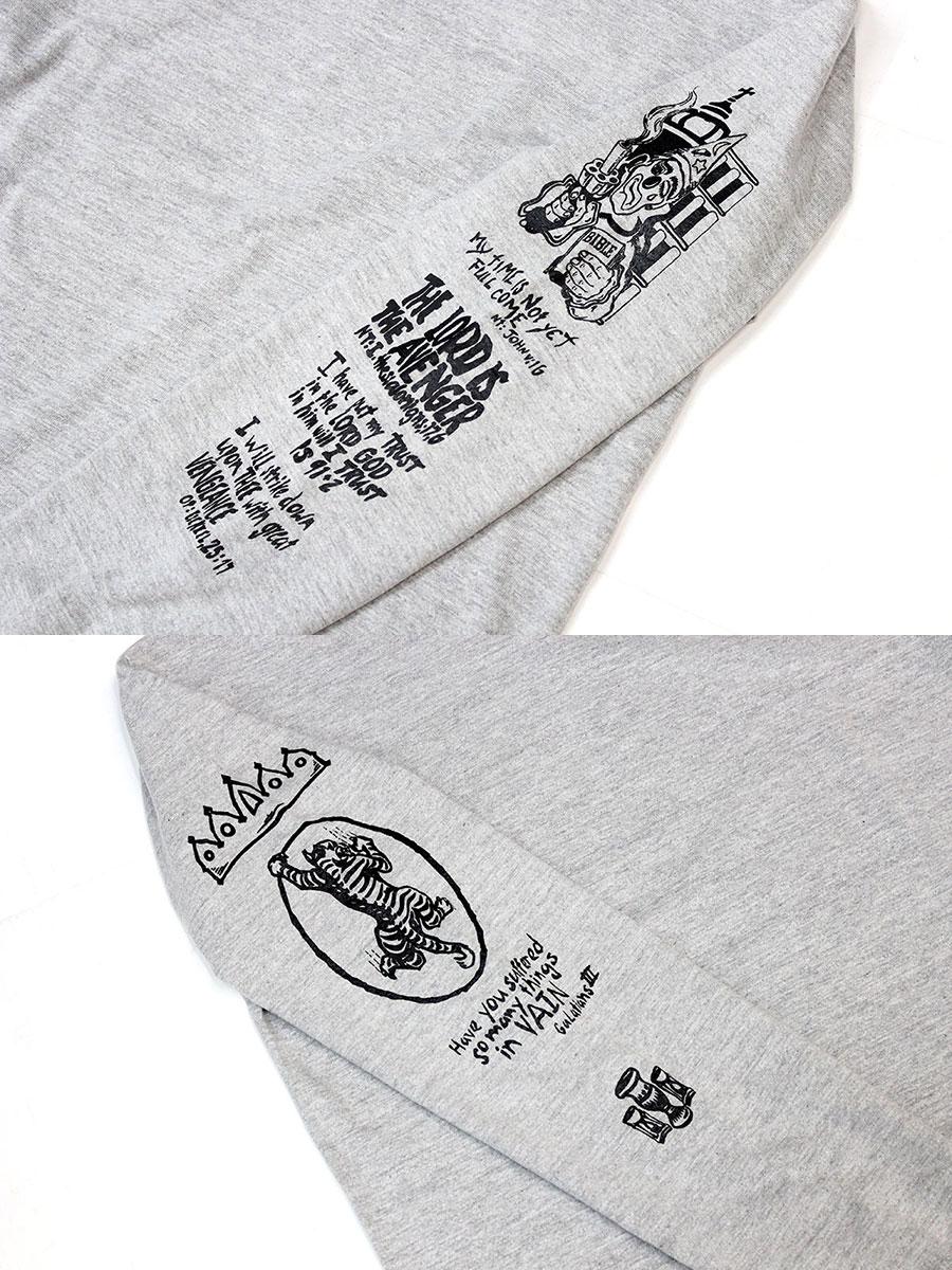 RWCHE (羅奇) 復仇者 l/s 三通 [海角恐懼海角恐懼紋身紋身電影羅伯特德尼祿長袖 T 恤羅恩] 0824年樂天卡司
