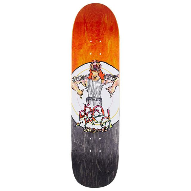 【送料無料 / デッキテープ無料】 KROOKED (クルキッド) SANDOVAL BOADY COUNT Skateboard Deck 8.25in x 32in スケートボード スケボー デッキ 【あす楽対応】