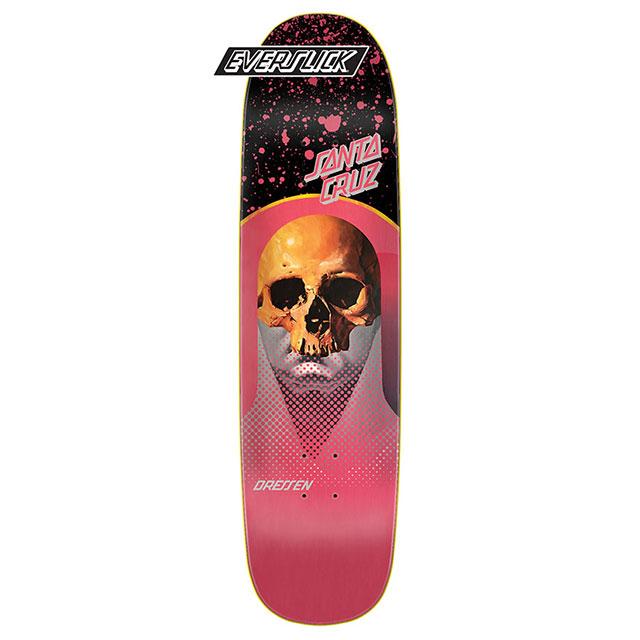 【送料無料 / デッキテープ無料】 Santa Cruz (サンタクルーズ) Dressen Destroyer Everslick Skateboard Deck 8.5in x 31.85in スケートボード スケボー デッキ 【あす楽対応】