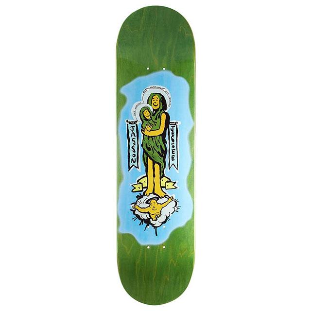 【送料無料 / デッキテープ無料】 THE DRIVEN (ドリブン) Gonz x Guadalupe Green Skateboard Deck 8.125in スケートボード スケボー デッキ 【あす楽対応】