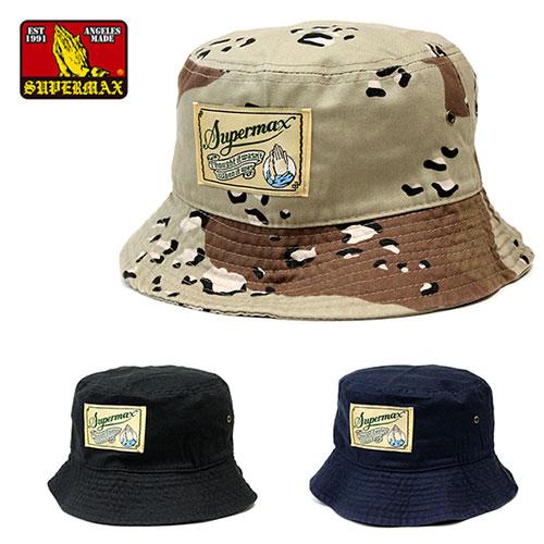 97b2a42031f SUPERMAX (super max) OG LABEL bucket hat pail hat men black   camo   navy  L XL