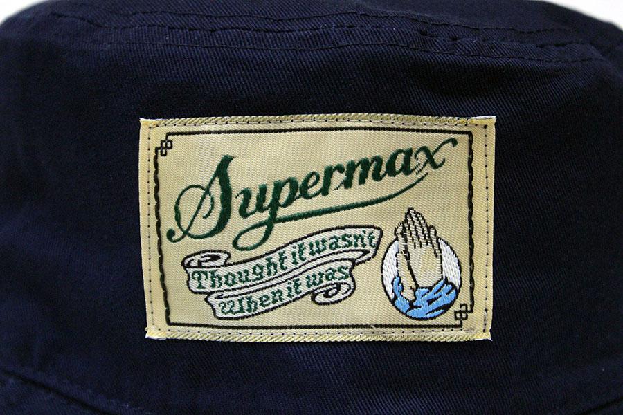 dc47507a370 SUPERMAX (super max) OG LABEL bucket hat pail hat men black   camo   navy L  XL