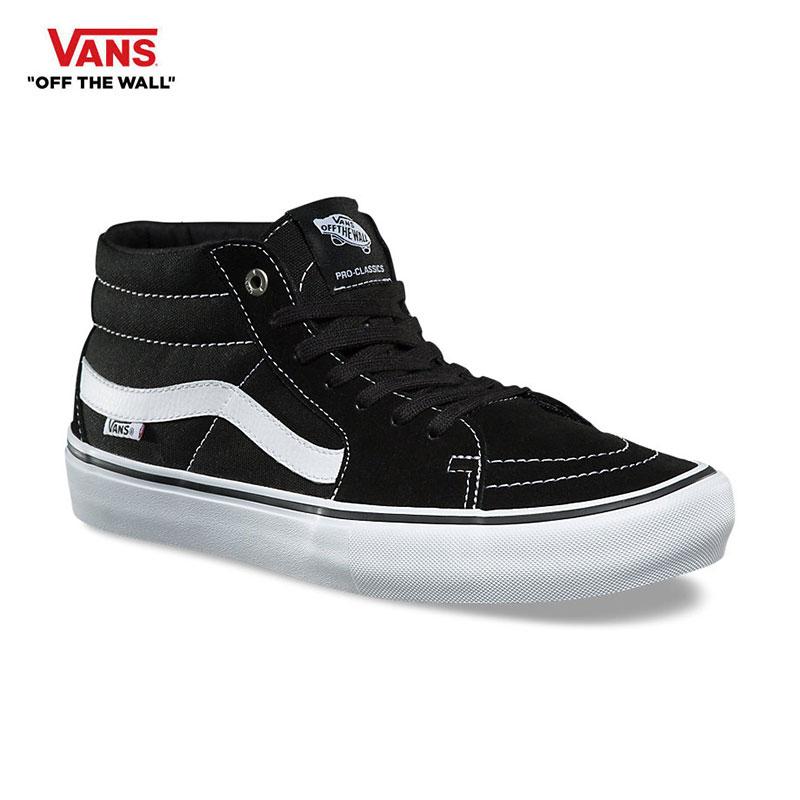 dec57d4f2da0 OSS CLOTHING  VANS (vans) SK8-MID PRO Black White men black ...