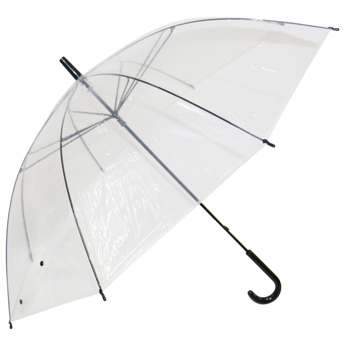 【送料無料】ビニール傘(透明)55cm 48本 / 傘 かさ まとめ買い 業務用 激安