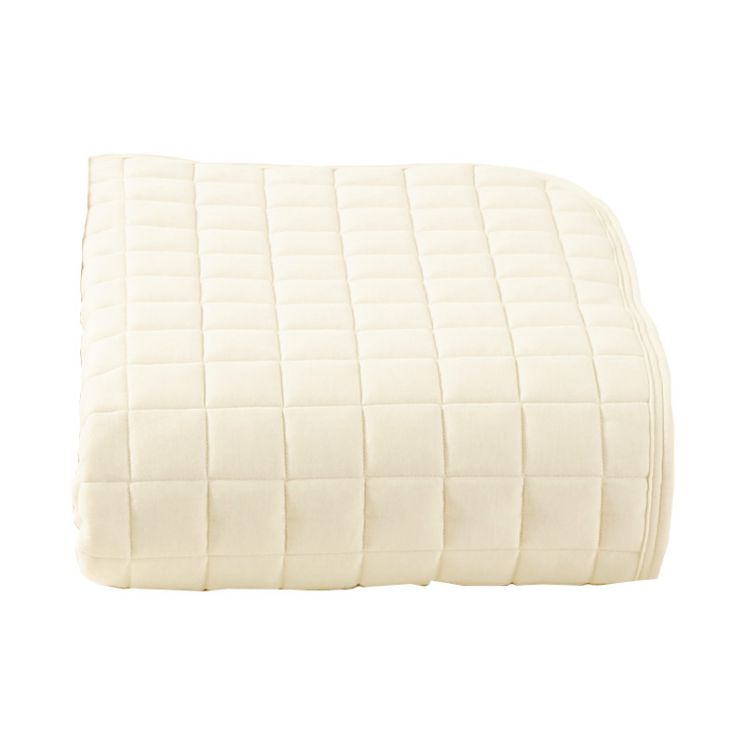 ロマンス小杉 ベッドパッド S シングルサイズ ベージュ 100x200cm RCS 高品質 高性能 ベッド プロテクター シーツ 必需品 手洗い 洗える 清潔