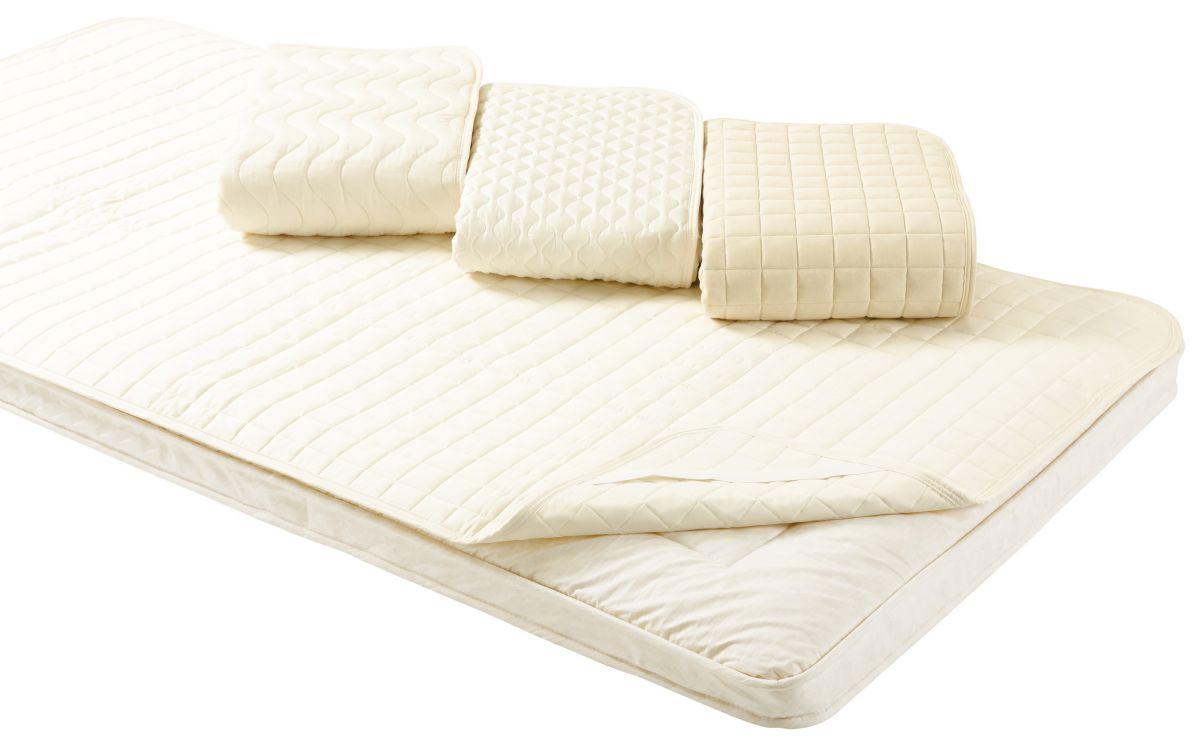 ロマンス小杉 ベッドパッド Q クイーンサイズ ベージュ 160x200cm RCS 高品質 高性能 ベッド プロテクター シーツ 必需品 手洗い 洗える 清潔