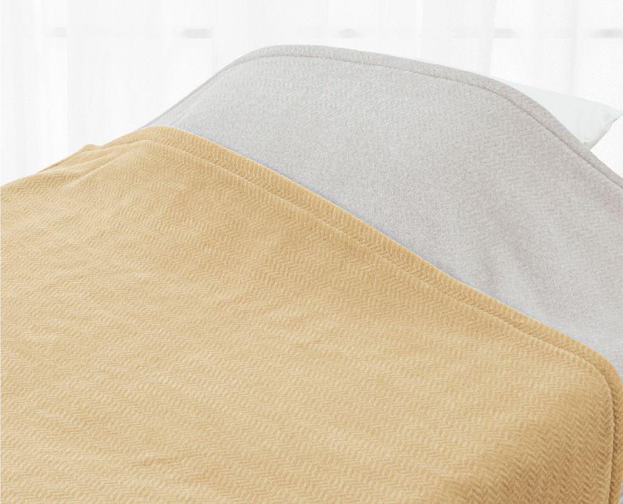 ロマンス小杉 ニューマイヤー毛布 ウール入り 140x200cm ロマンス岩盤浴 羽毛 ふとん 併用 相性 抜群 あったかい ポカポカ シングル 蓄熱 洗える 洗濯 丸洗い