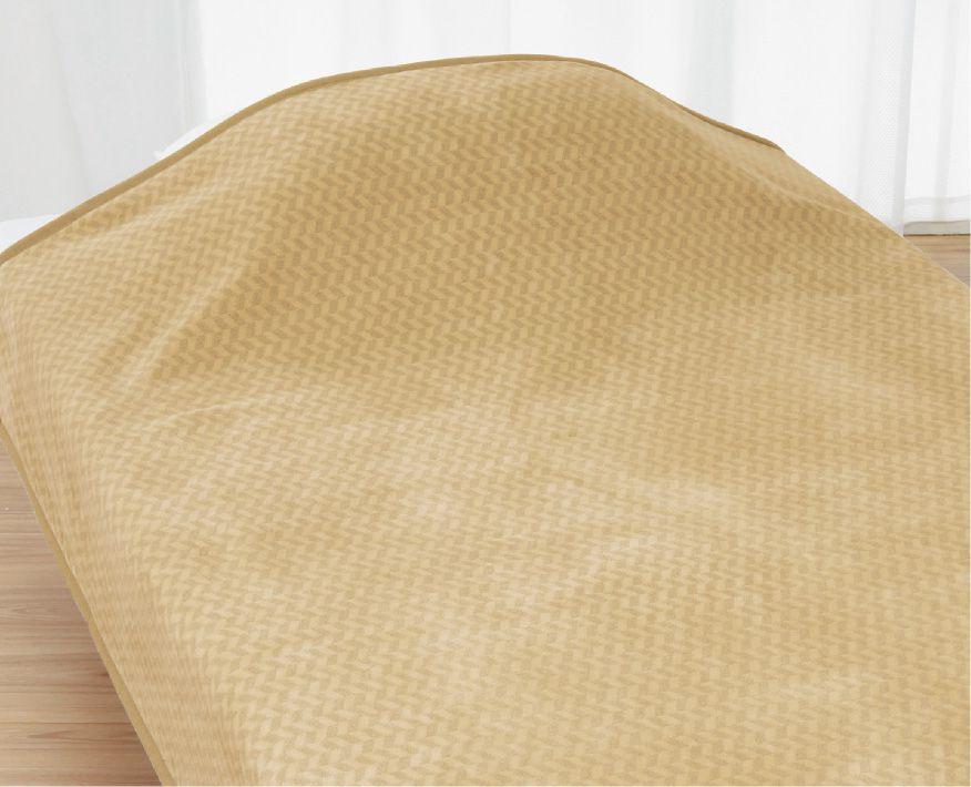 ロマンス小杉 ニューマイヤー毛布(軽量タイプ) D 180x210cm ロマンス岩盤浴 羽毛 ふとん 併用 相性 抜群 あったかい ポカポカ ダブル 蓄熱 消臭 部屋干し 軽い