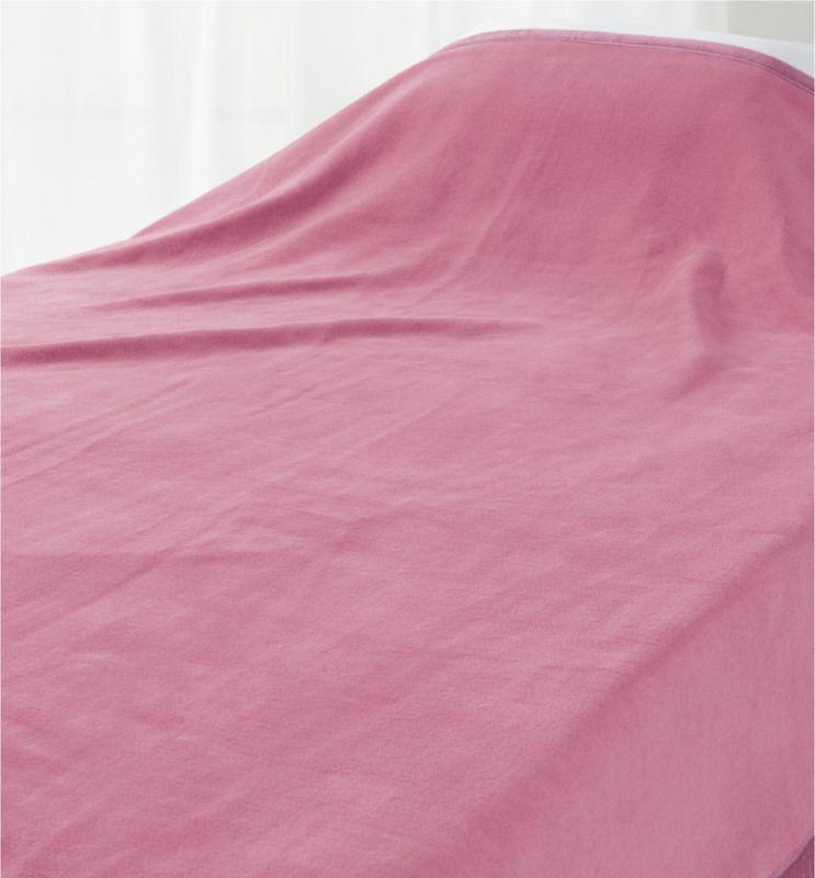 ロマンス小杉 ニューマイヤー毛布 D 180x210cm ロマンス岩盤浴 羽毛 ふとん 併用 相性 抜群 あったかい ポカポカ ダブル 蓄熱 消臭 部屋干し