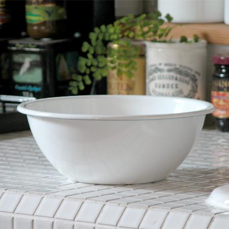 ボール 保存容器 キッチン用品 食器 高品質 調理器具 ホーロー ほうろう 1.35L 大 オールドファームハウスSシリーズ キッチンストッカー Φ22.0cm セール キッチンボウル