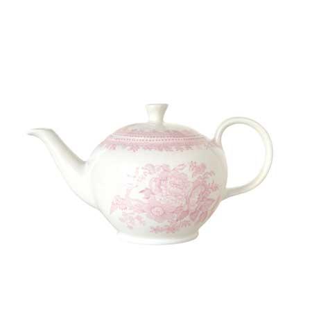イギリス食器 バーレイ社 ピンクアジアティックフェザンツ ティーポット S 450ml 花柄/おしゃれ/陶器/おすすめ/かわいい