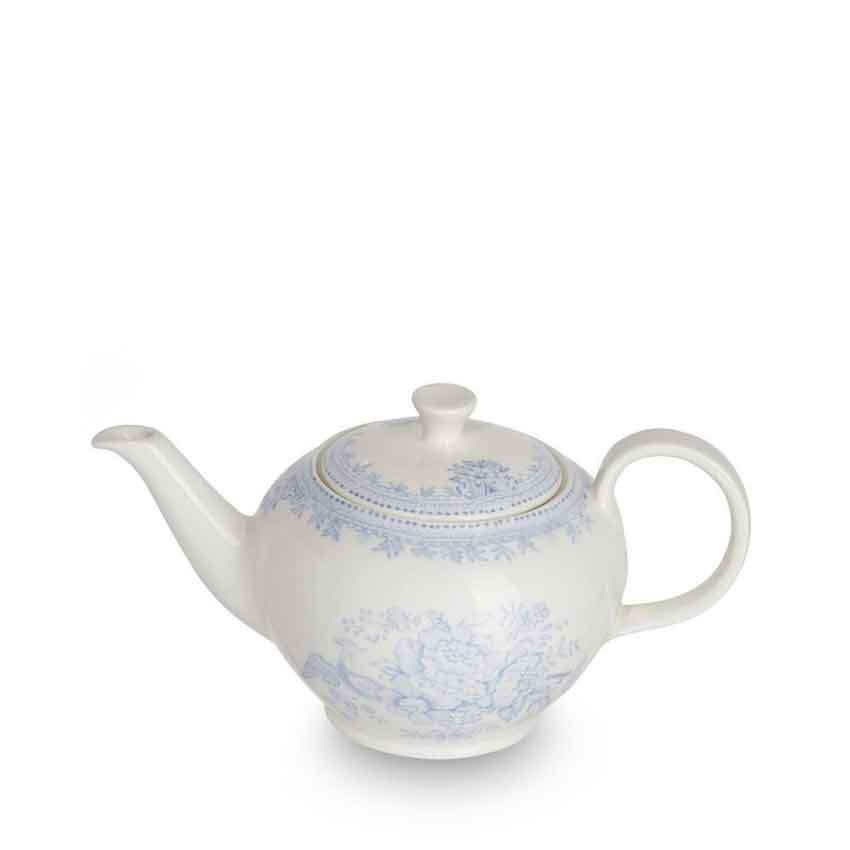 バーレイ 英国食器 Burleigh ブルーアジアティックフェザンツ ティーポット S 450ml 花柄/おしゃれ/陶器/おすすめ/かわいい