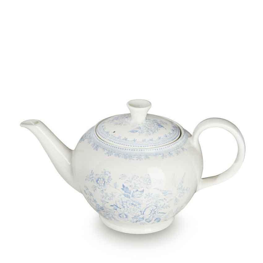 イギリス食器 バーレイ社 ブルーアジアティックフェザンツ ティーポットL 800ml  花柄/おしゃれ/陶器/おすすめ/かわいい