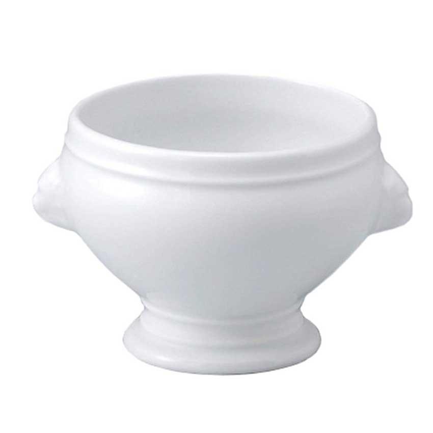 APILCO ライオンヘッド スープボウル 1300ml  アピルコ/フランス/パリ/カフェ/白/南仏/洋食器/陶器/スープ