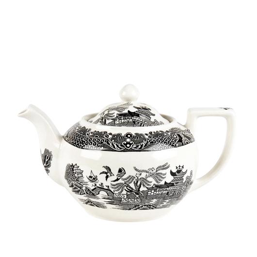 英国食器バーレイ社 ブラックウィロー ティーポットL 1.0L イギリス/おしゃれ/紅茶/陶器