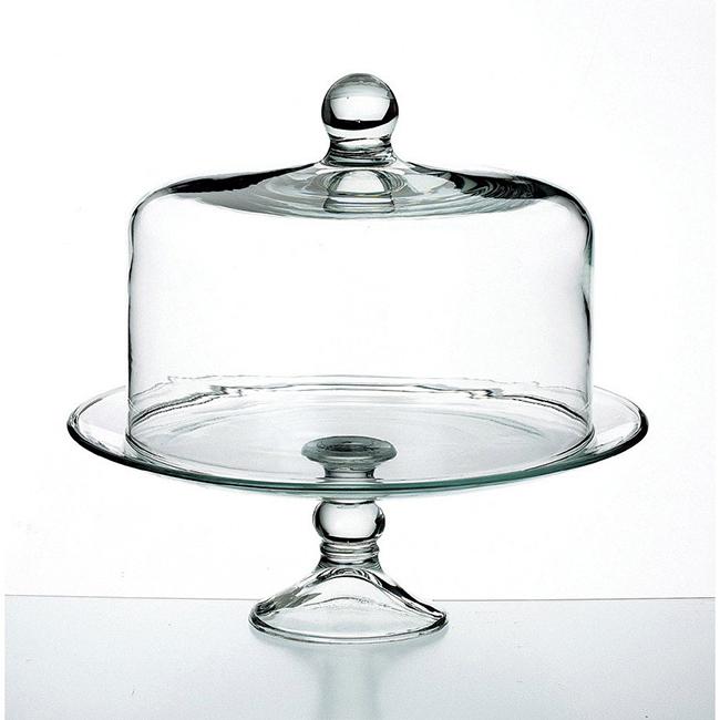 royal leerdam ロイヤル レアダム Platter and Dome ケーキドーム コンポート/ビュッフェ/脚付き/パーティー/ガラス製