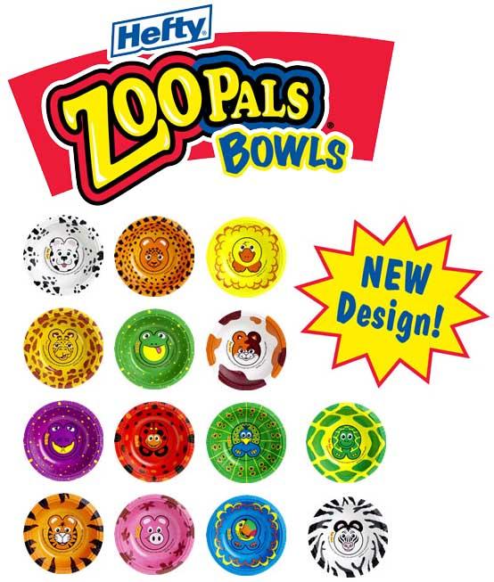 Zoo pals bowls (20 p)  sc 1 st  Rakuten & Zoo pals bowls (20 p)