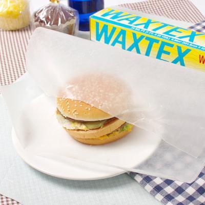 ※訳アリ 少し箱つぶれあり食品包装用パラフィン紙 アメリカンランチの定番 WAXTEXワックステックス タイムセール 高級品 お菓子に石鹸作りなどに大活躍 ペーパーロール