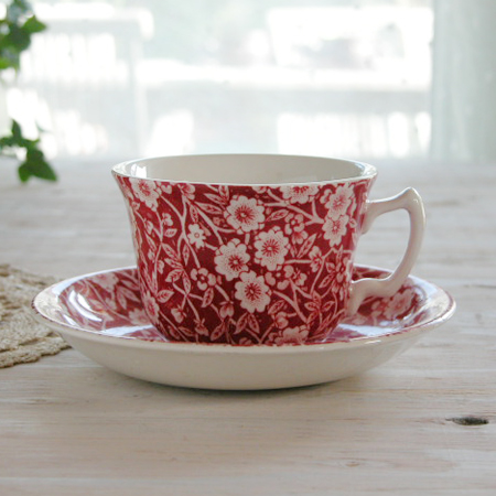 In typical designs of Burleigh Calico series the image of Prunus (cherry kind) fell onto the ice. After a long winter and feel the beginning of spring is ... & ostuni | Rakuten Global Market: British tableware Burleighu0027s lead ...