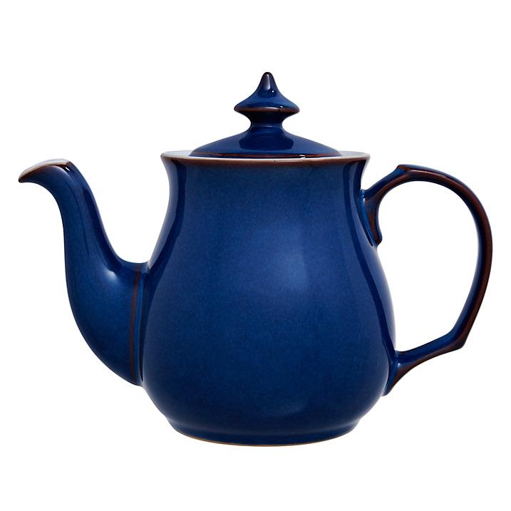 【送料関税無料】 イギリス食器 Denby デンビー インペリアルブルー ティーポット 1L 耐熱/おしゃれ/陶器/おすすめ/かわいい, ネットショップ駿河屋 0901a5d0