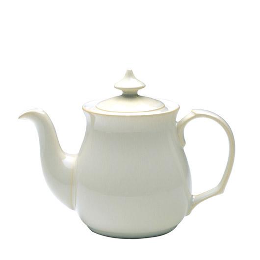 イギリス食器 Denby デンビー リネン ティーポット 1L 耐熱/おしゃれ/陶器/おすすめ/かわいい