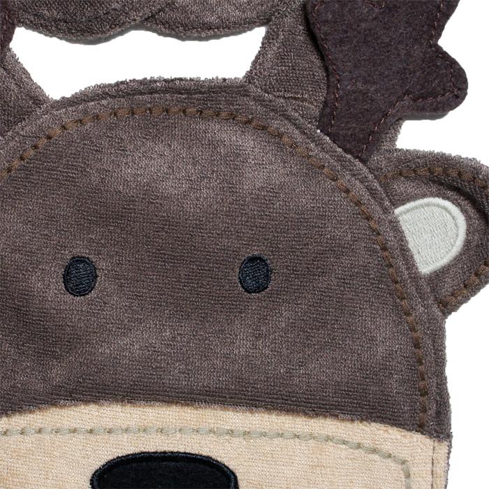 fbaf182f1e6 Carters Carter s reindeer I of form bib   bib snap closure X   mas at Christmas  Carter s baby bib bibs apron boy for 10P30Nov14