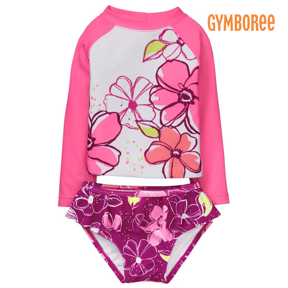 e1c66d242f75a osyamama: Kids child use for the floral design UPF50+ baby baby for the  child of the underwear top and bottom setup woman with 18 new work Jinbo Lee  ...