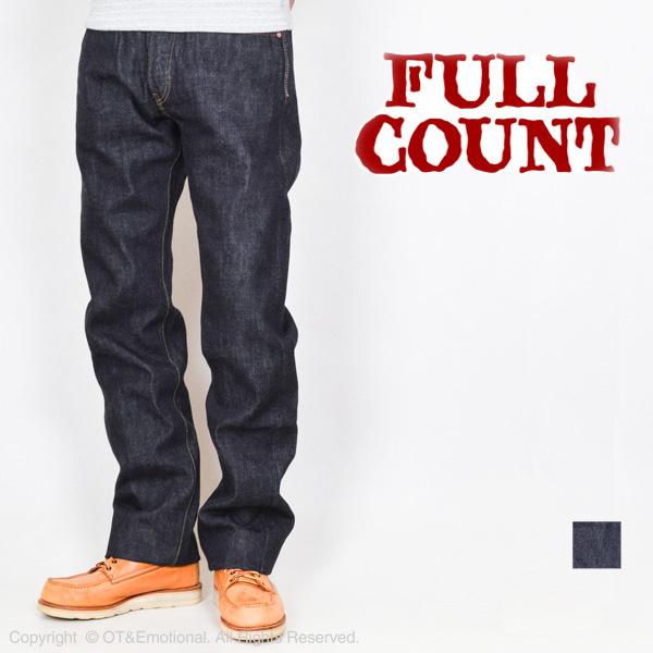 充分计数 (充分计数) 牛仔裤经典直 0105 W 15.5 盎司