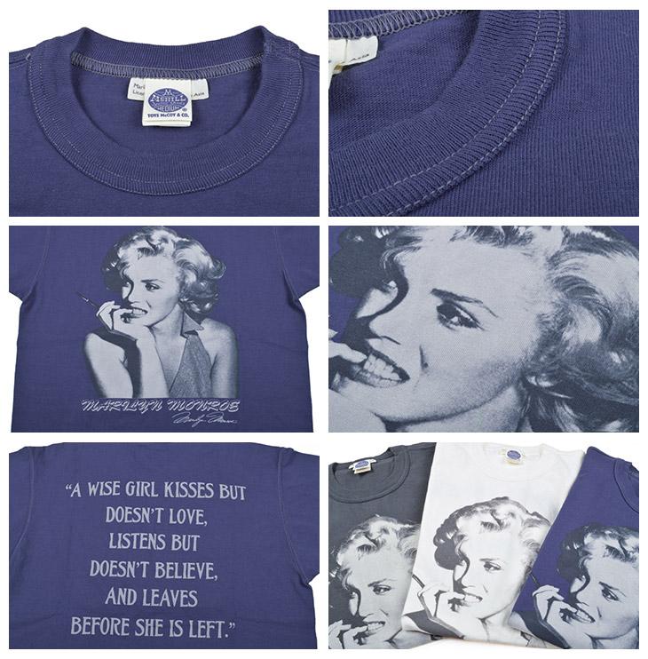 Toys McCoy (TOYS McCOY) T-shirt MARILYN MONROE PICTURE TMC1721