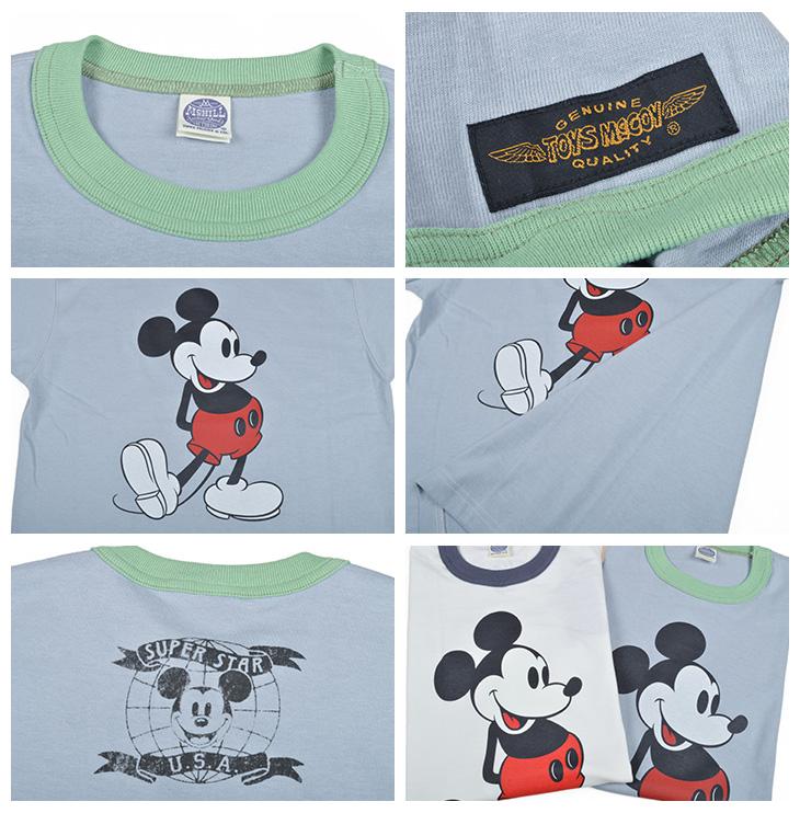 트이즈막코이(TOYS McCOY) T셔츠 MICKEY MOUSE TMC1750