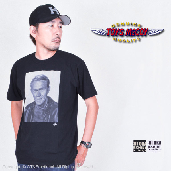 "トイズマッコイ(TOYS McCOY)Tシャツ McQUEEN""THE GREAT ESCAPE""TMC1859"