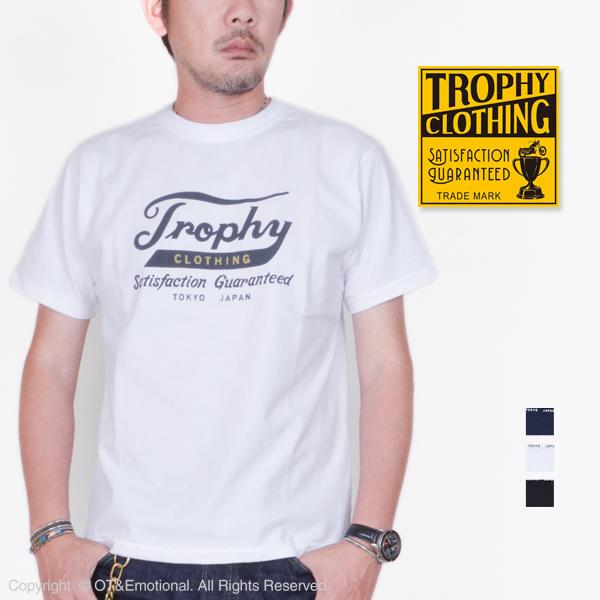 トロフィークロージング(TROPHY CLOTHING)クルーネックTシャツ Trophy Logo TR19SS-211
