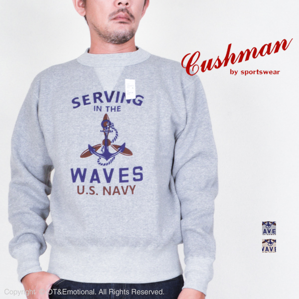 クッシュマン(Cushman)セットインスウェット U.S.NAVY 26901P