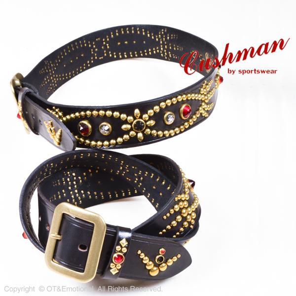クッシュマン(Cushman)40mm シングルピン スタッズベルト 29180