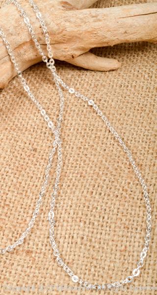 和平(PEACE)银子链子宽大的50cm CLF100-50