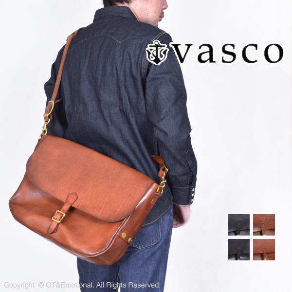 ヴァスコ(vasco)レザーポストマンショルダーバッグ VS-248L
