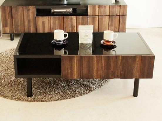 【送料無料】RESE レセ センターテーブル テーブル 机 天然木