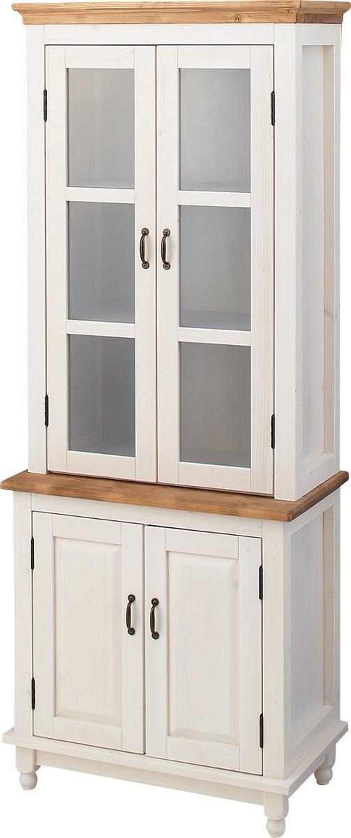 【送料無料】カップボード 食器棚 ダイニング 木製 収納