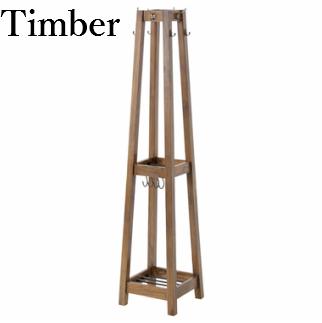 【送料無料】Timber ティンバー ハンガー 服掛け 天然木 木製 PM-310
