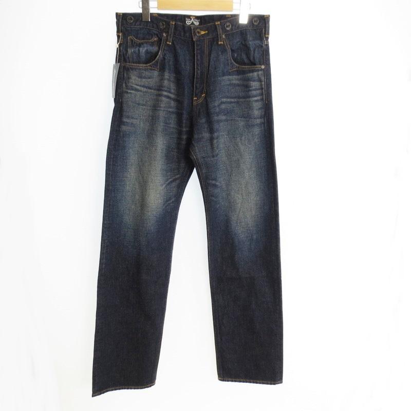 【中古】DRESS HIPPY ドレスヒッピー OLDMAN PANTS VINTAGE TYPE デニムパンツ サイズ:M カラー:インディゴブルー【f107】