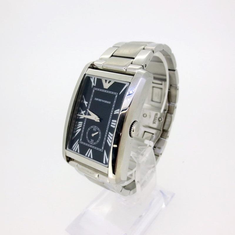 【中古】EMPORIO ARMANI エンポリオ・アルマーニ AR-1608 クォーツ 腕時計 【f131】