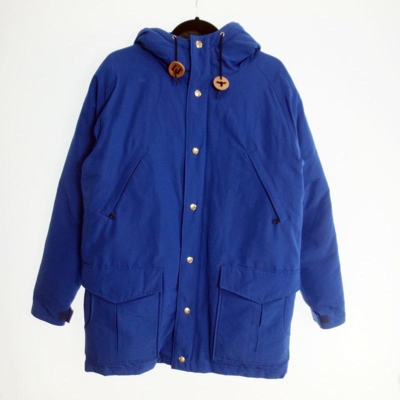 【中古】GERRY ジェリー RGR-002LOV ダウンコート 2019AW サイズ:M カラー:ブルー【f092】