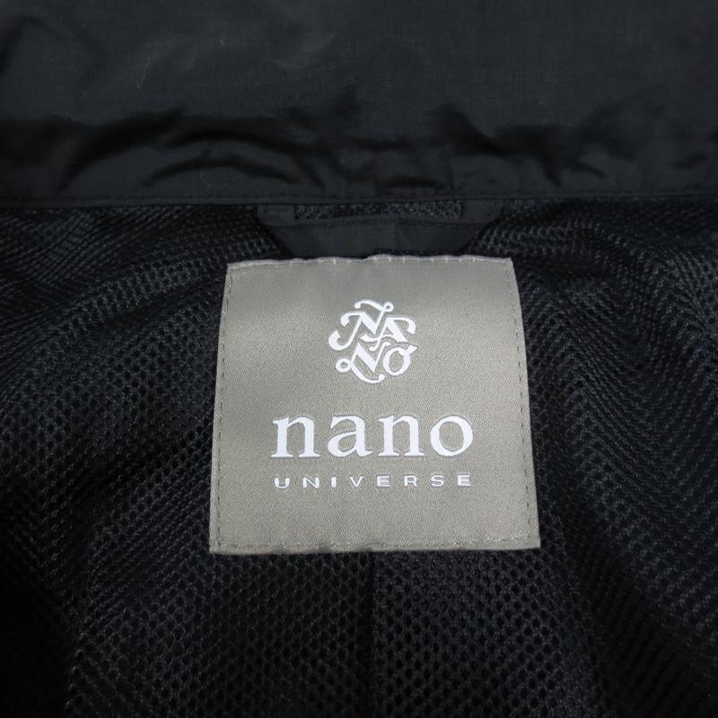 nano universe ナノユニバース モッズコート NUC81CT0232MT 2018AW サイズ S カラー ブラックセレクト f0910knwOP