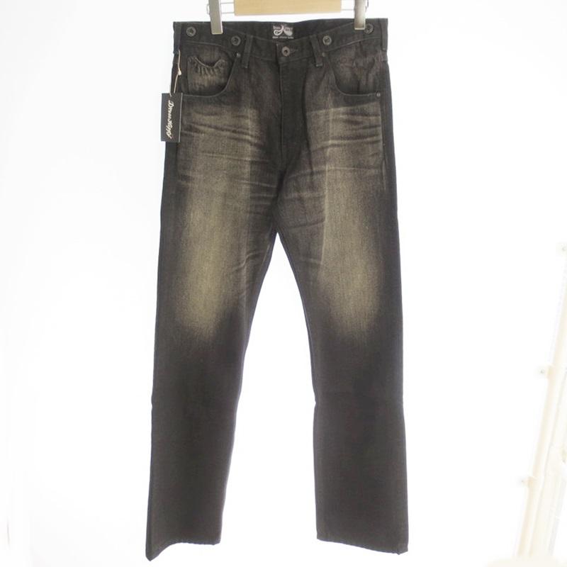 【中古】DRESS HIPPY ドレスヒッピー OLDMAN PANTS VINTAGE TYPE デニムパンツ 2019AW サイズ:M カラー:ブラック【f107】