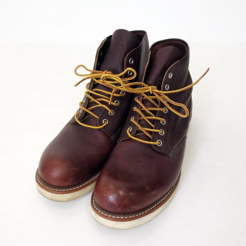 【中古】RED WING レッドウィング ROUND TOE 8196 ブーツ サイズ:28 カラー:ブラウン【f127】