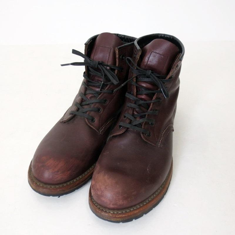 【中古】RED WING レッドウィング BECKMAN ROUND BOOTS 9011 ワークブーツ  サイズ:27.5 カラー:ブラウン【f127】