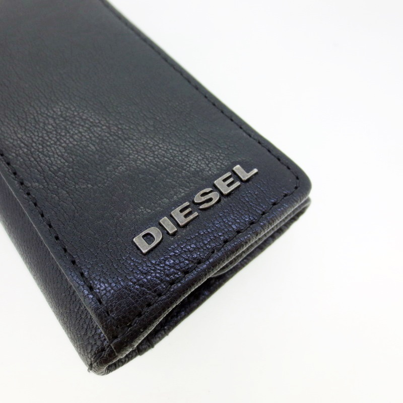 DIESEL ディーゼル 6連キーケースカラー ブラック f124Rq34Lj5A