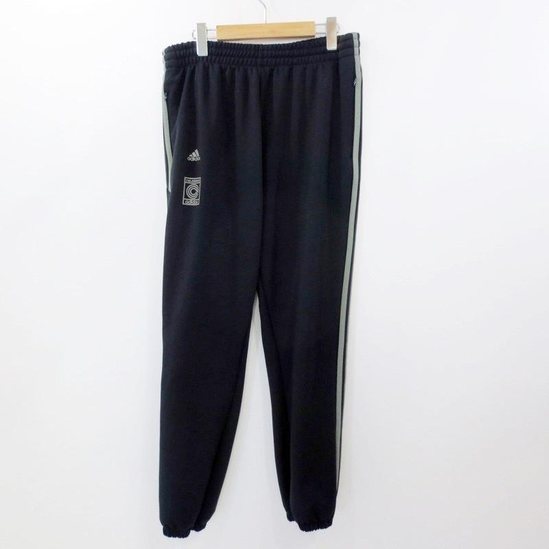 【中古】adidas アディダス Yeezy CALABASAS TRACK PANTS トラックパンツ DY0572 サイズ:L カラー:ネイビー【f108】